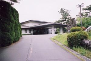 愛知カンツリークラブ クラブハウス玄関