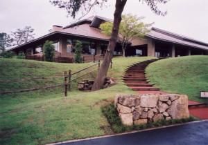 狭山ゴルフクラブ クラブハウス 東1番スタート