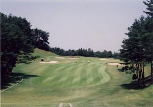 青梅ゴルフ倶楽部 東コース2番ホール・パー5