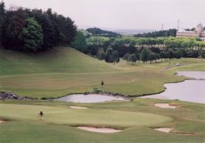ニュー・セントアンドリュース ゴルフクラブ・ジャパン 3番ホール グリーンまわり