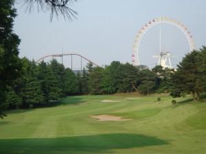 よみうりゴルフ倶楽部 8番ホール ティ