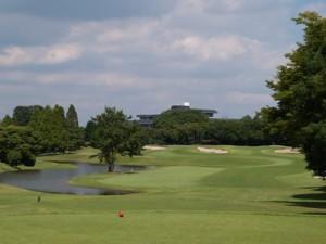 レイクウッドゴルフクラブ西コース18番ホール