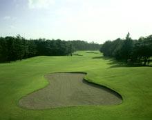 茨城ゴルフ倶楽部東コース 18番ホール